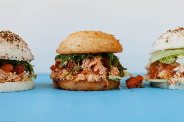 "Jjanga's new ""burgers"" embrace the sushi-shaping trend"