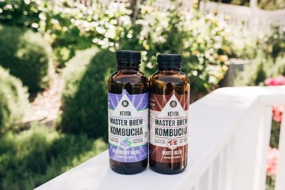 KeVita Adds Blueberry Basil And Roots Beer To Its Master Brew Kombucha Line