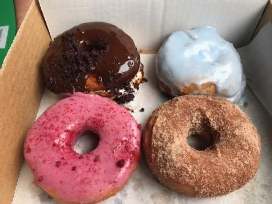 Doughnut shop creates crazy flavours that work