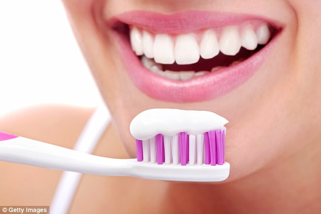 Tooth paste uses uses glass to remove decay