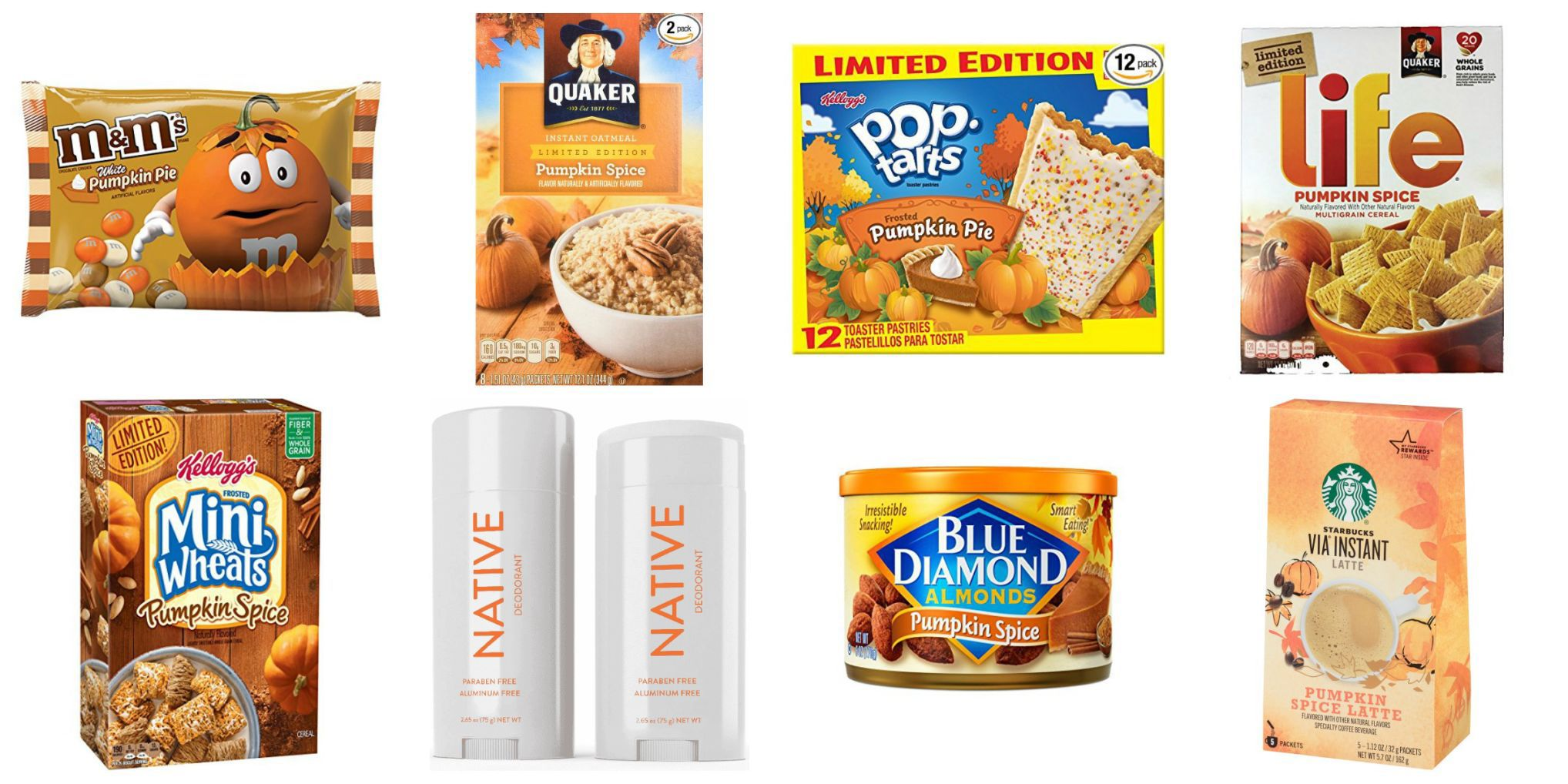 21 pumpkin-flavored items you can get right now that aren't lattes