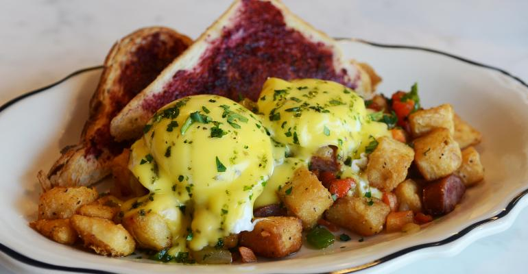 Comfort food hash gets mixed up with modern influences