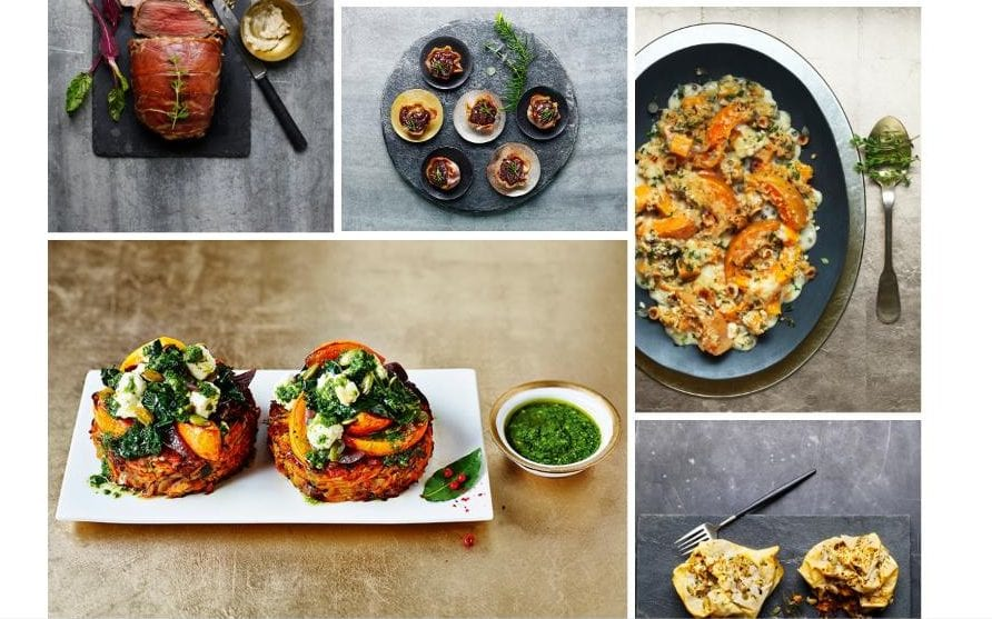Rise of the meat-free Christmas: M&S's 2017 festive menu contains more vegetarian main courses than meat