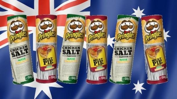 Pringles Australia releases duo of Aussie flavors