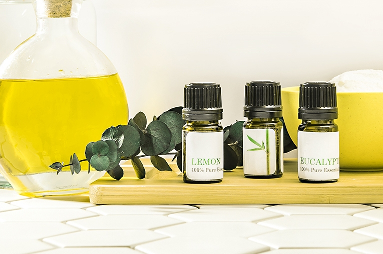 Blend your own household cleaning products using essential oils to remove dirt, grease, bacteria—and toxins.