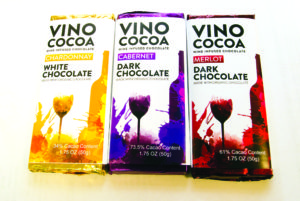 Infusing wine flavours into chocolate