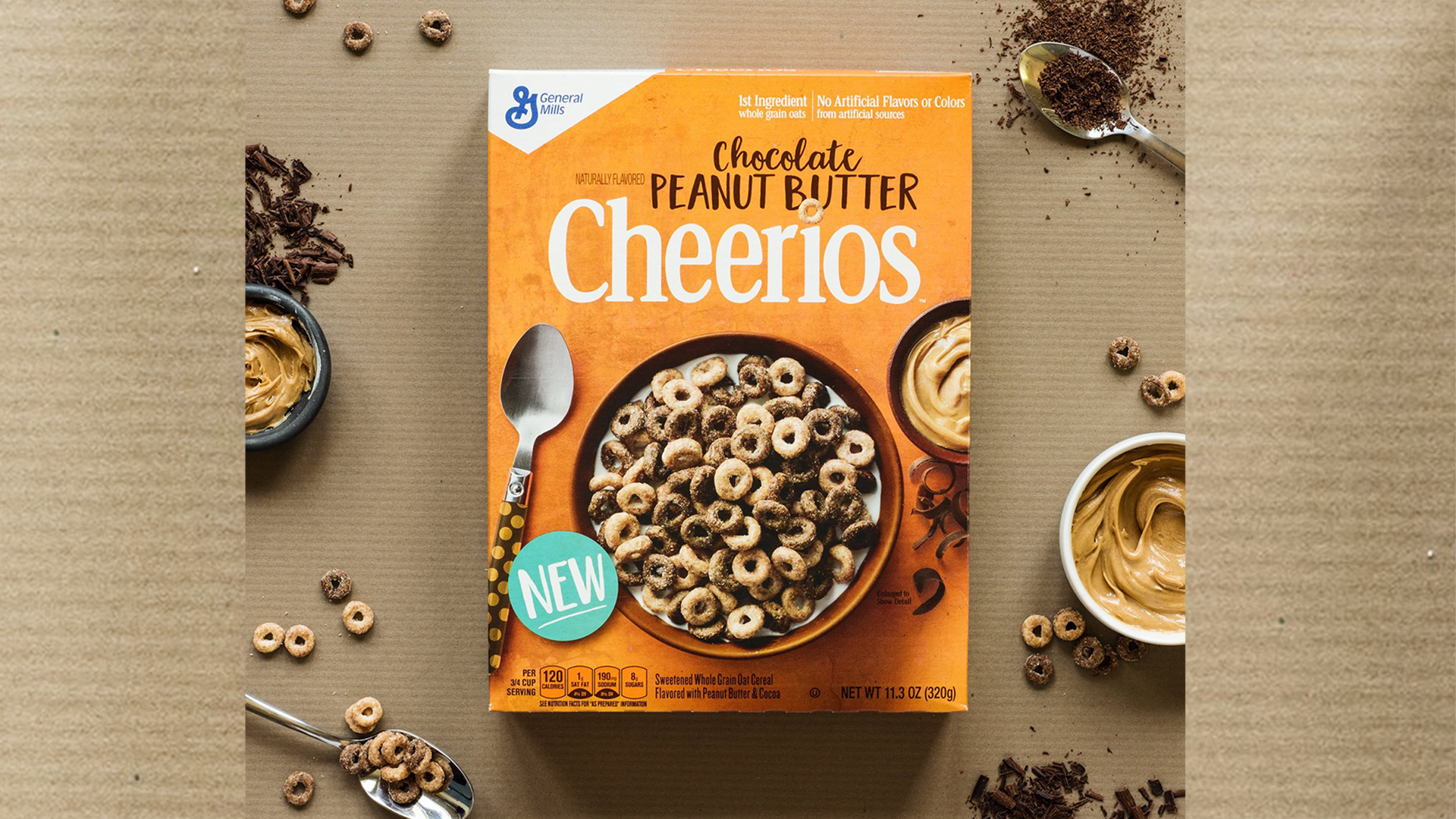 Love Reese's? Cheerios has a sweet new cereal flavor just for you