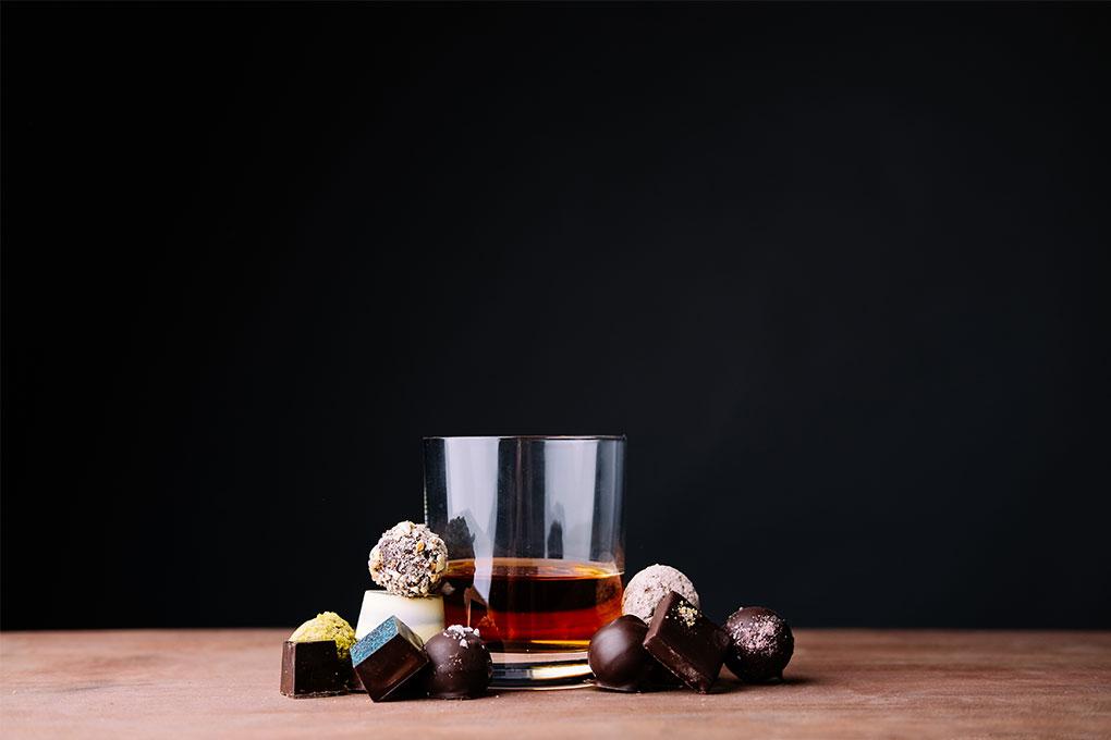 LaRue Fine Chocolate's Elizabeth McDaniel wants to help you pair chocolate and liqueur