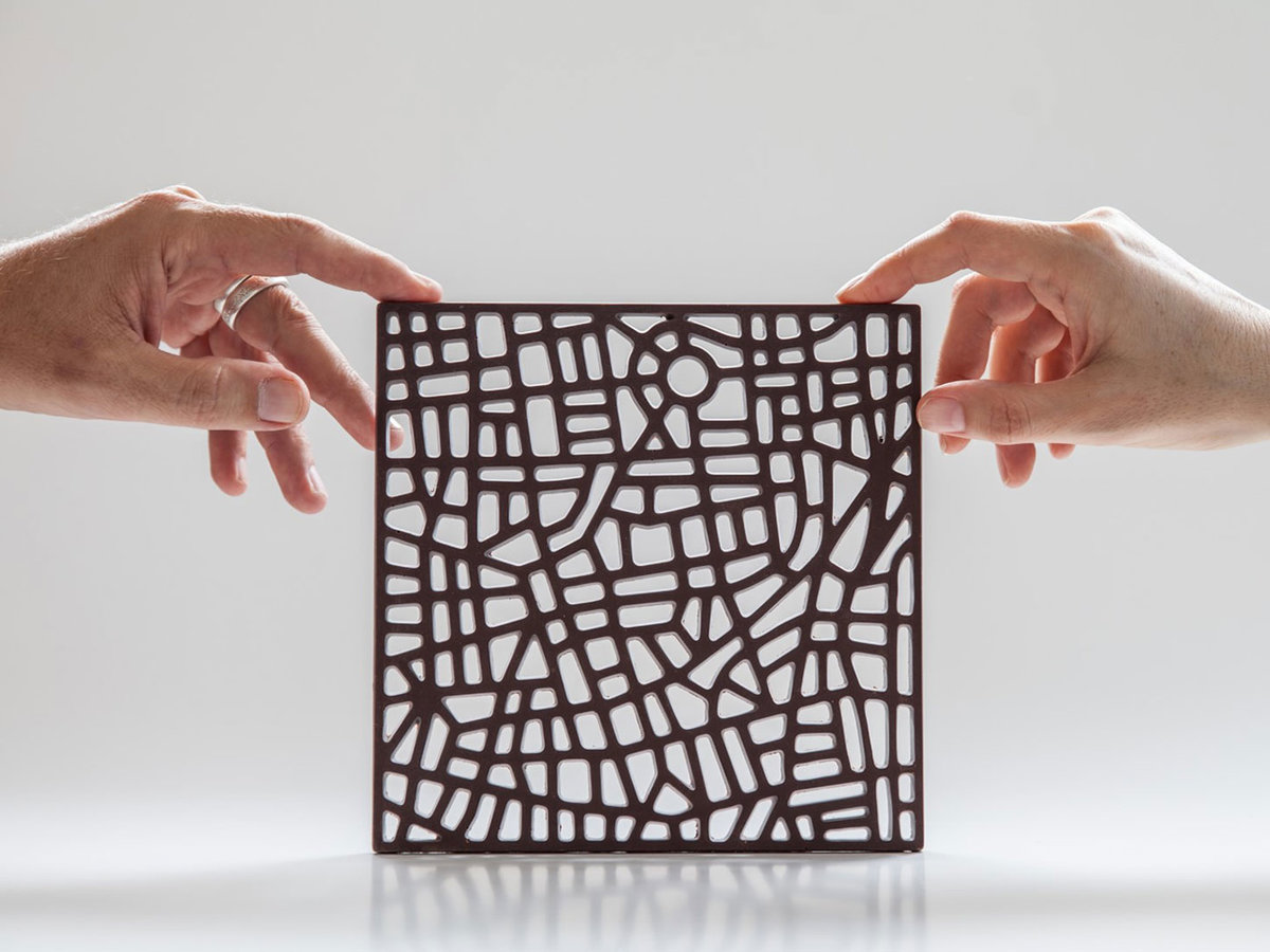 You Could Be Eating a Chocolate Map of Your City