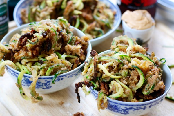 Fried Spiraled Zoodles – Oh, My! | Food Galley Gab