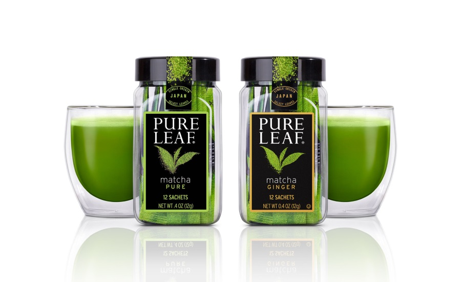 Pure Leaf Matcha Teas available in two flavors
