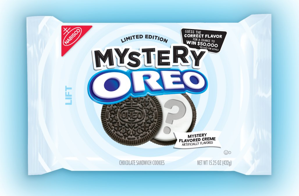 Oreo offers $50,000 if you can guess its new 'mystery' flavour