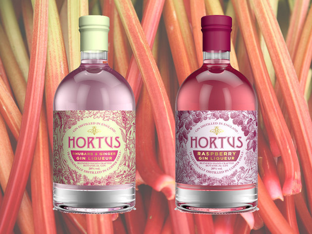 Rhubarb And Raspberry-Flavoured Gin