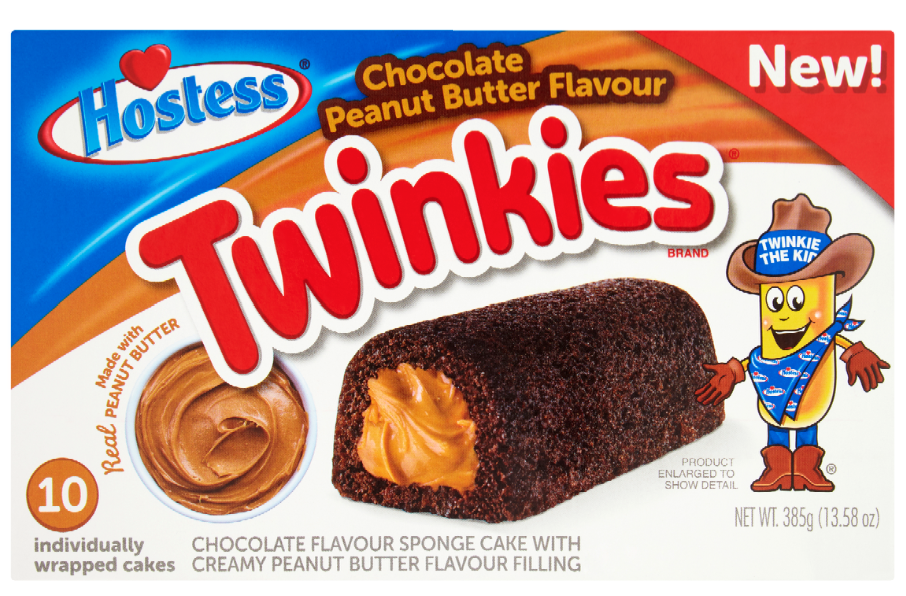 Twinkies launches peanut butter range in UK & Europe