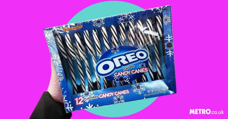 Oreo-flavoured candy canes are here and we're more excited for Christmas than ever