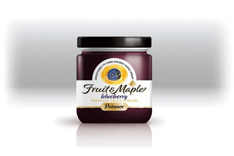 New Fruit Spreads Sweetened & Flavoured With Maple Syrup