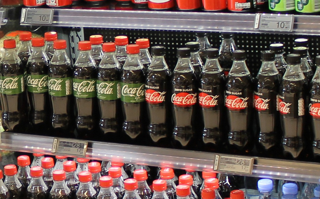 Seismic shift in behaviour with soft drink consumption in the UK