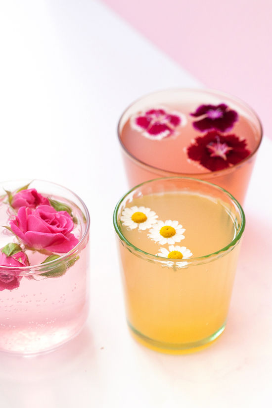 Flower power: Blossoms in your beverages