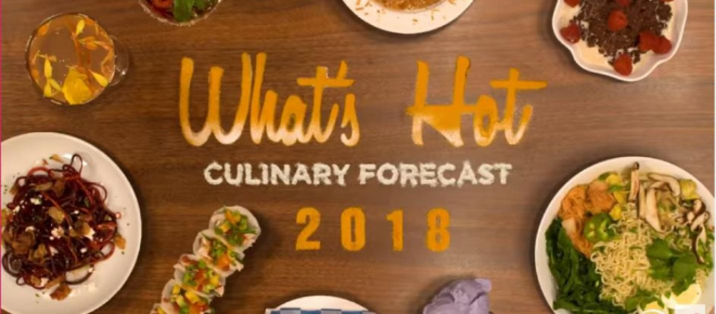 Five Food Trends To Follow In 2018