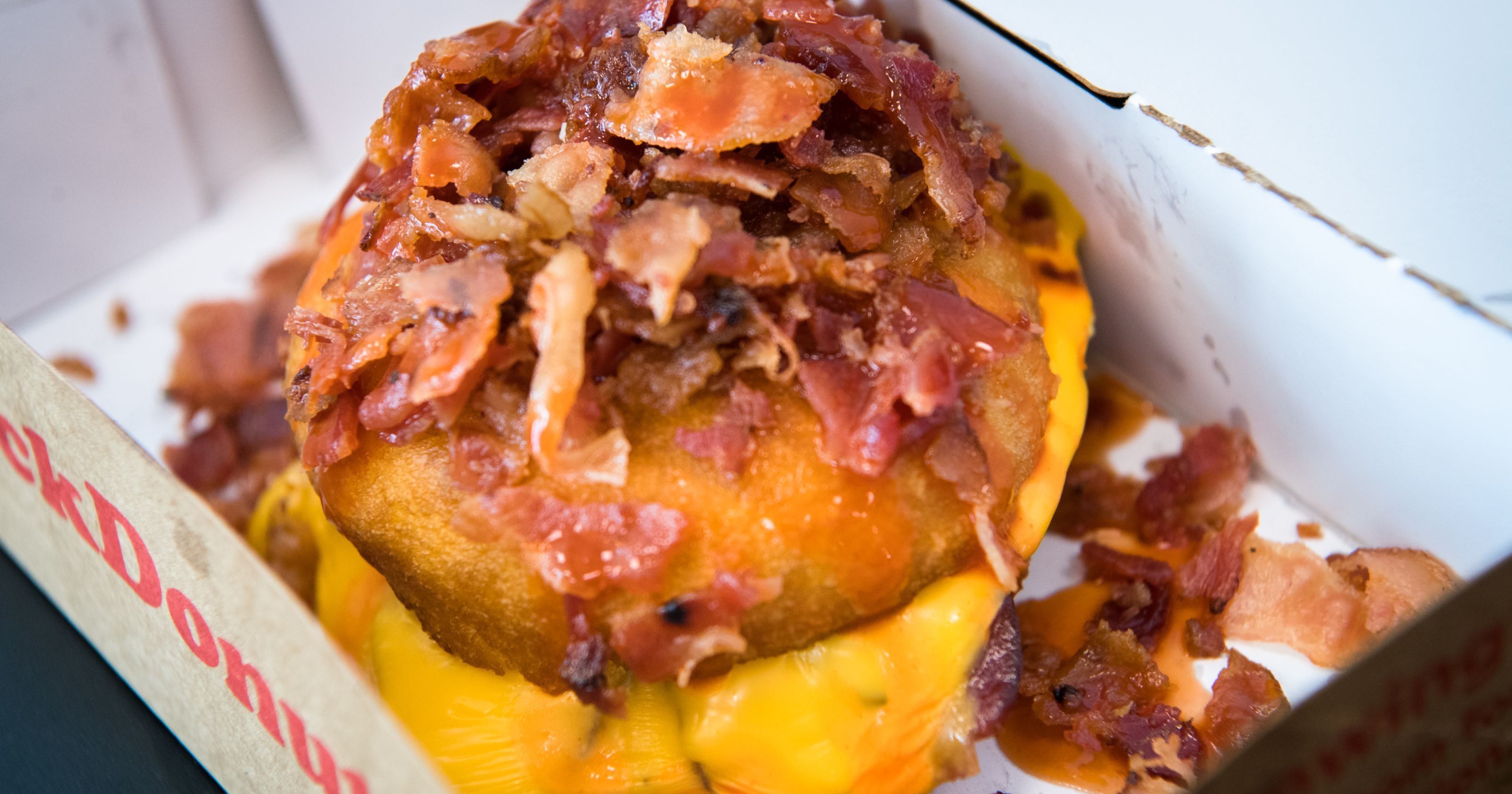 The oddest and best donuts: bacon, hot sauce, probiotics