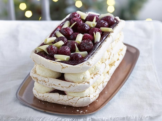 co-op white meringue stack