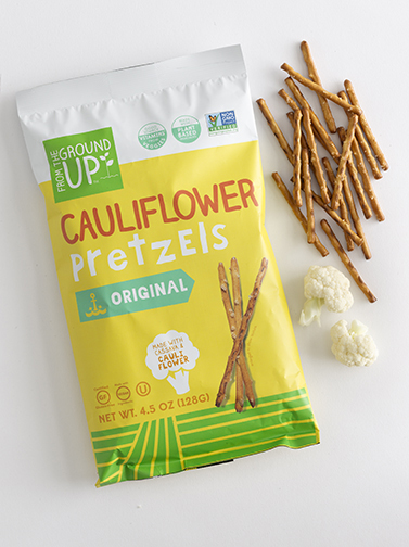 Cauliflower pretzels, From the Ground Up