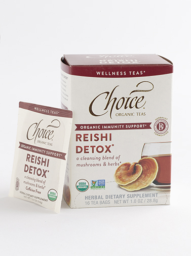 Choice Organic Reishi Detox tea