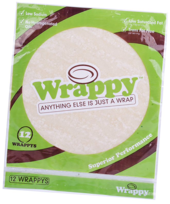 Wrappy tortillas, Harbar