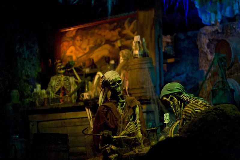 Even Pirates of the Caribbean's scents can inspire a wistful feeling of home.