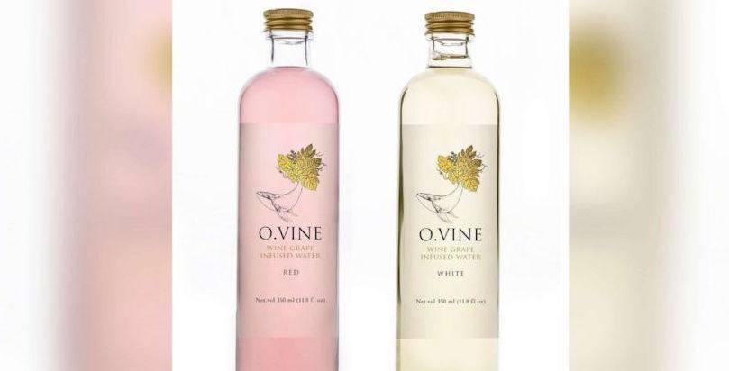 O. Vine Wine Grape Infursed Water