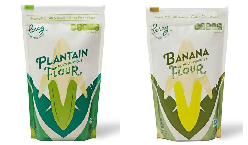 Pereg banana and plantain flours