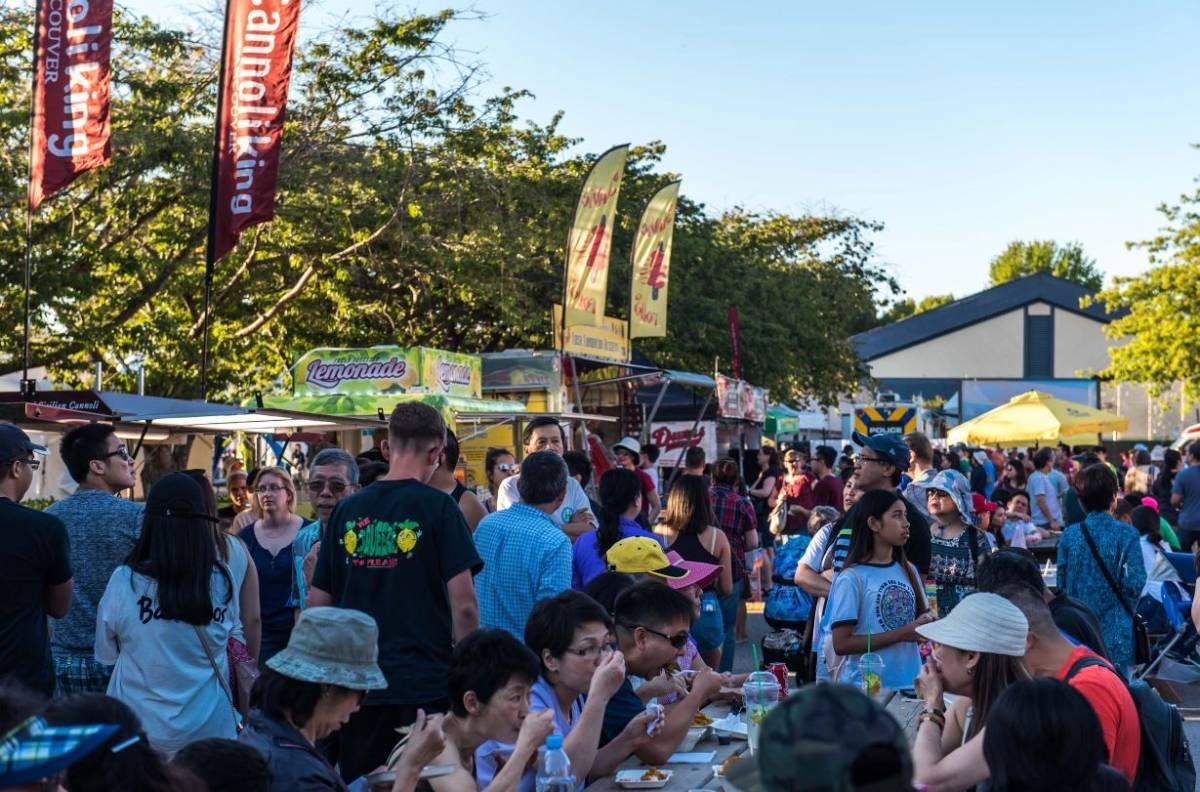 More than 50 food trucks will be available at the FEASTival of Flavours.