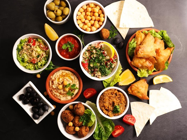 Middle Eastern mezze