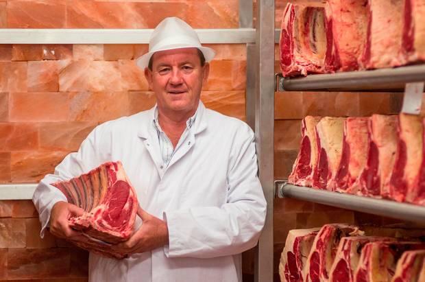 Peter Hannan of Hannan Meats in Moira, Co Down