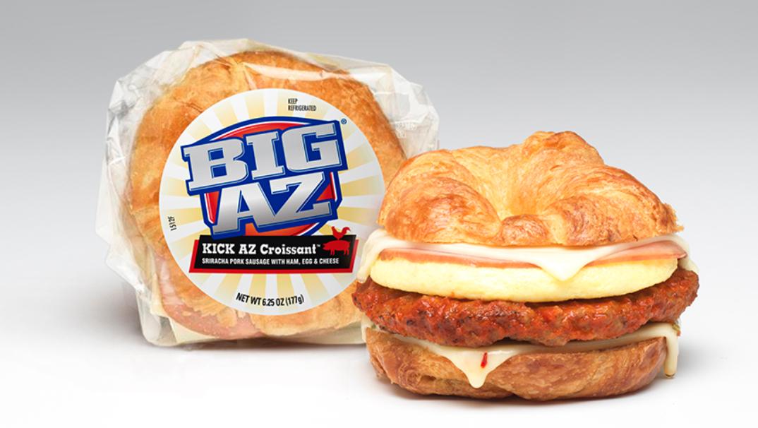 Big AZ Kick Az Croissant
