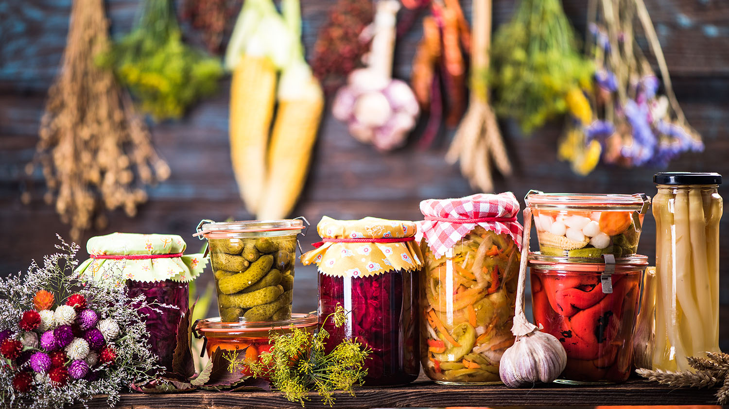 Development of fermented flavour profiles