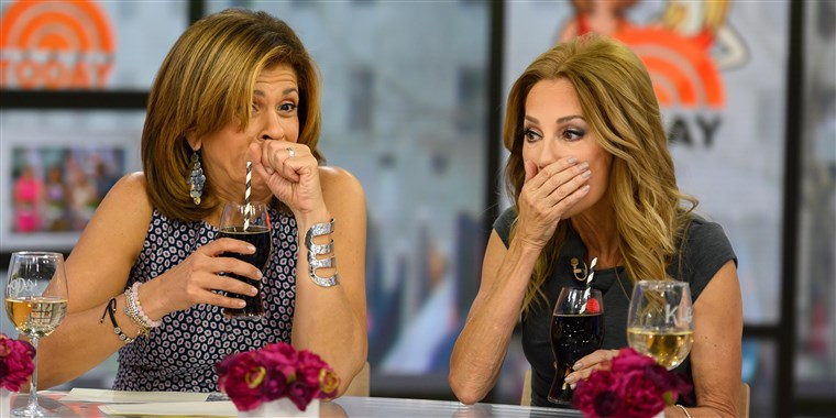 Kathie Lee Gifford and Hoda Kotb try to guess Coke's latest flavor and have a hard time figuring it out.