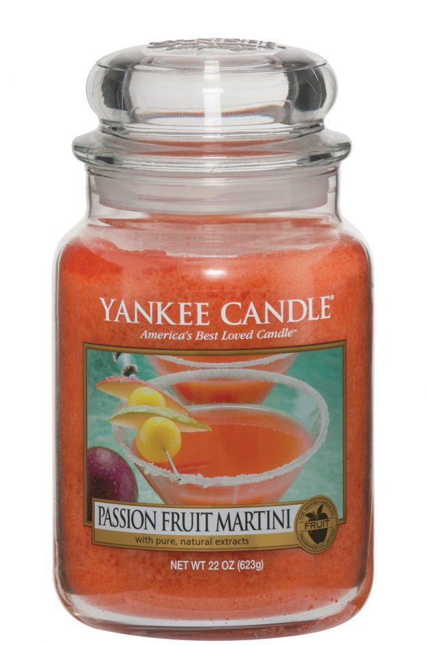 Yankee Candle's Passion Fruit Martini scent is already selling out fast