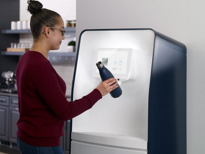 PepsiCo launches drinks dispenser for refillable bottles