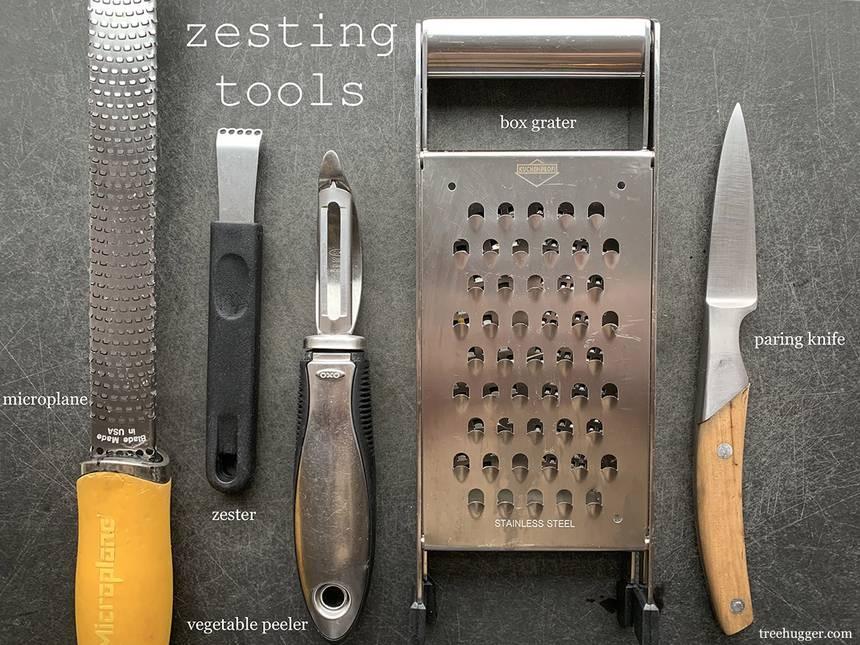 Zesting tools