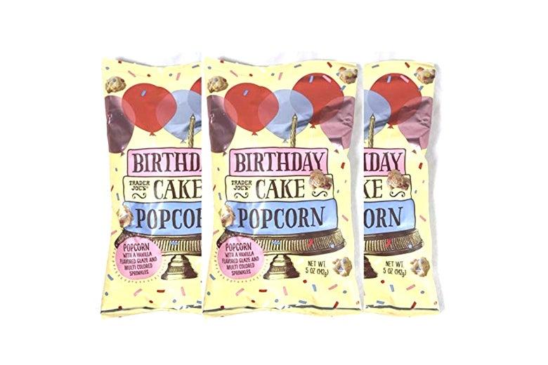 Trader Joe's Birthday Cake Popcorn 5 oz
