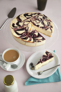ARYZTA blueberry swirl cheesecake lr