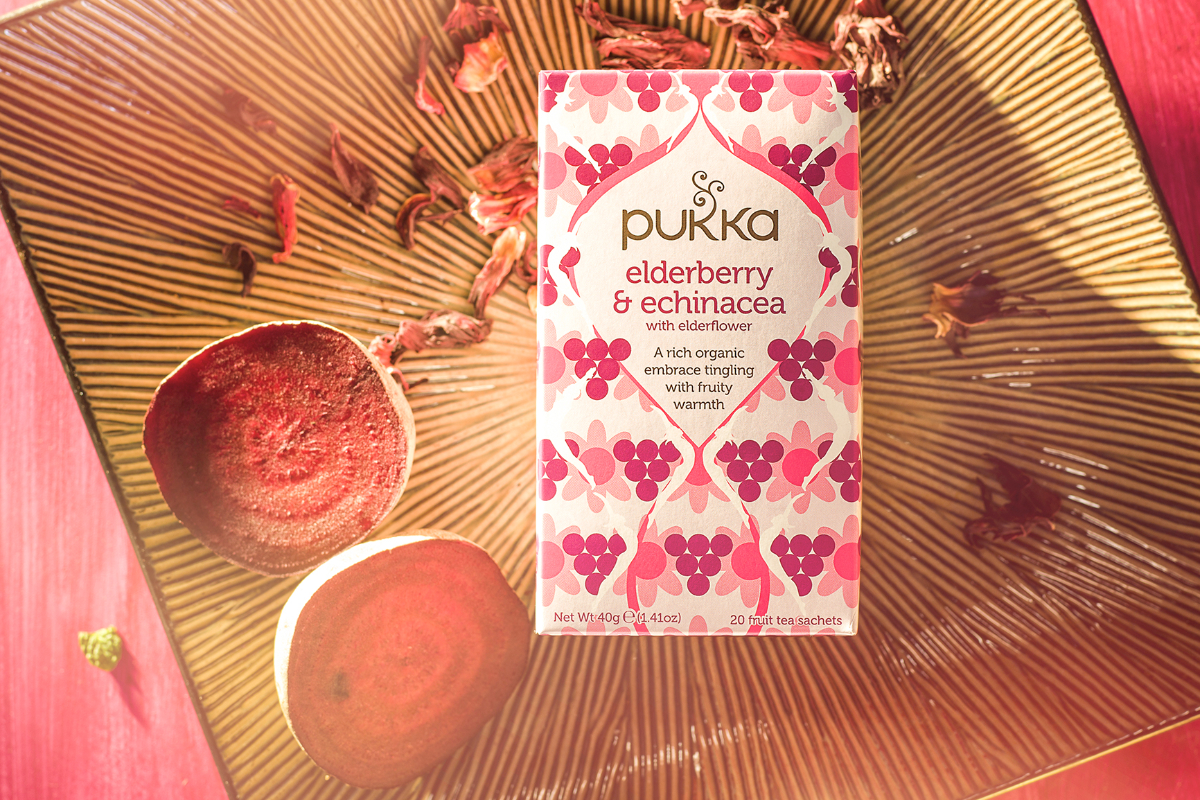 Pukka elderberry tea