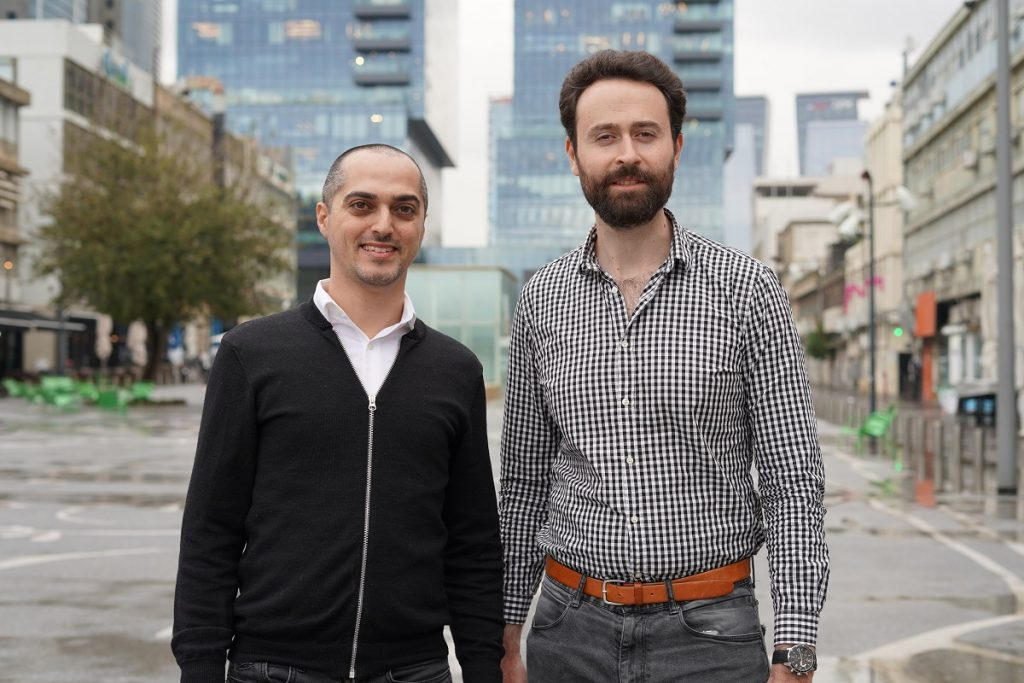 Tastewise founders Alon Chen, left, and Eyal Gaon, right. Photographer Omer Kalderon