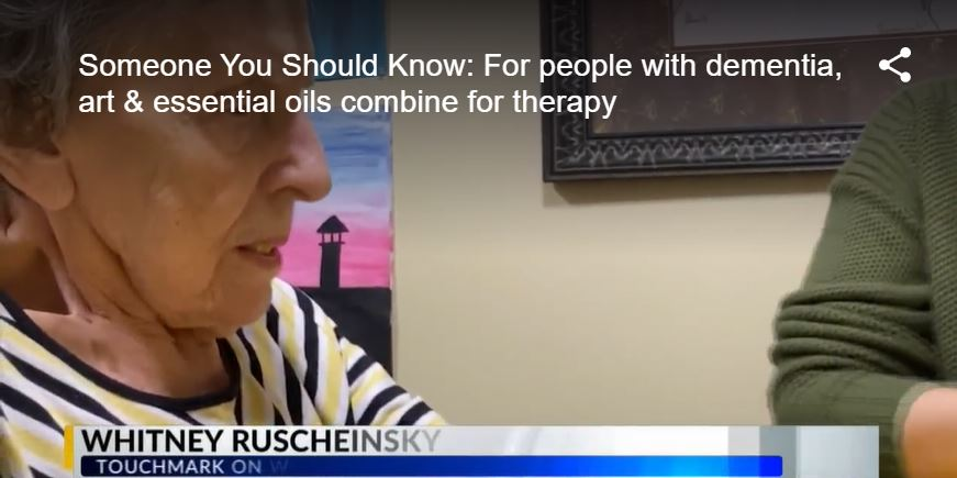 Someone You Should Know: For people with dementia, art & essential oils combine for therapy | KX NEWS