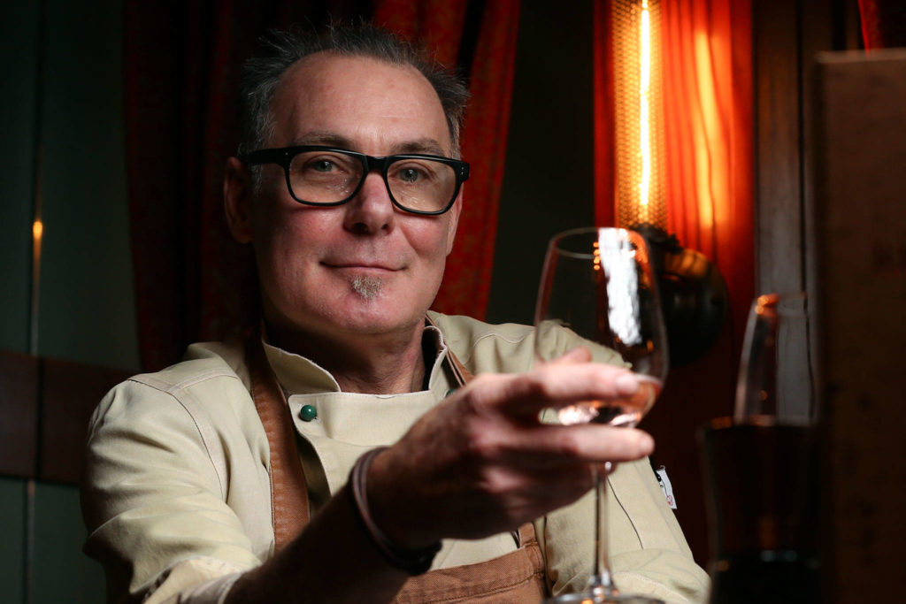Greg Claus of Revolve Food & Wine has been a chef for more than 40 years. (Kevin Clark / The Herald)