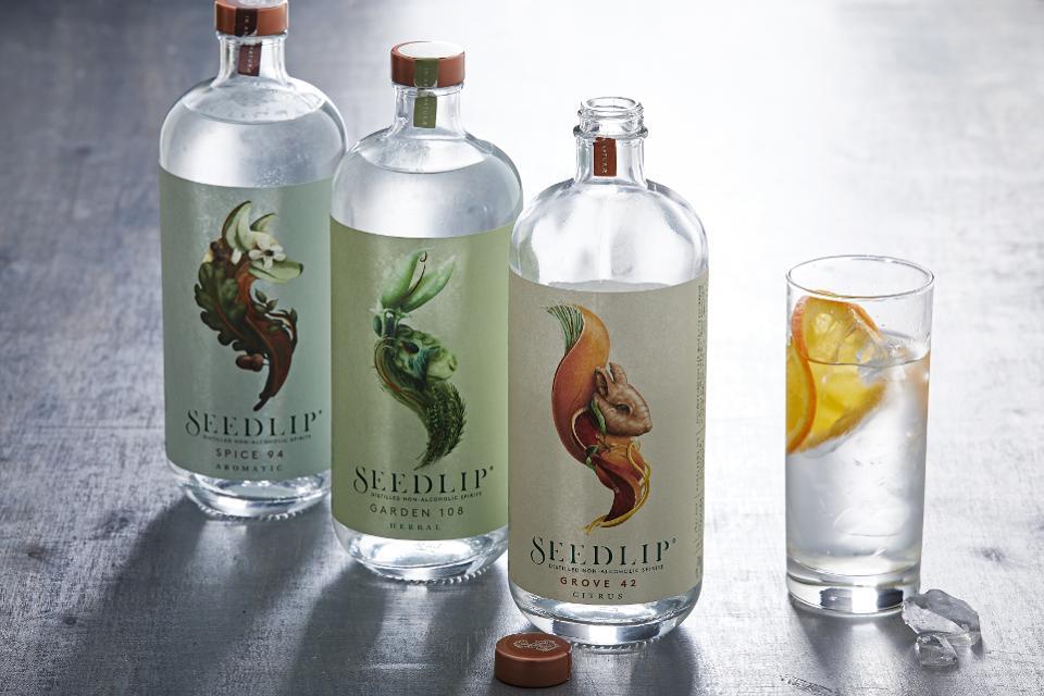 Seedlip bottles
