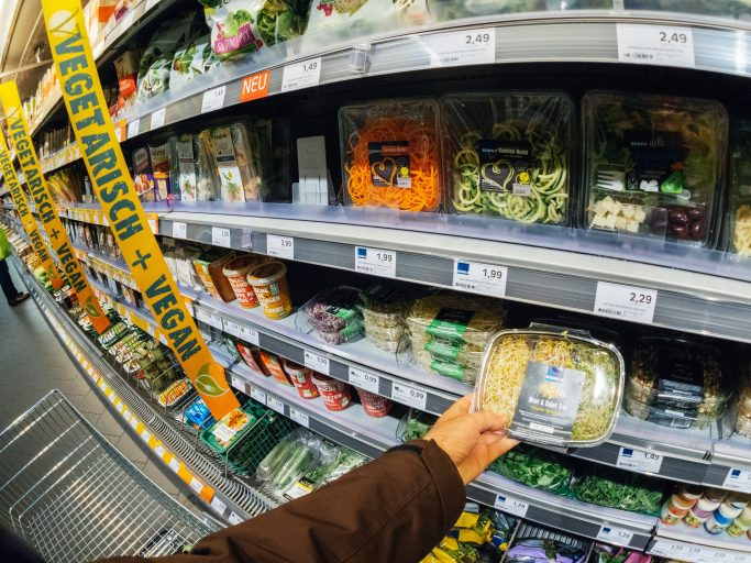 Vegan food accounted for 25% of all new product launches in UK