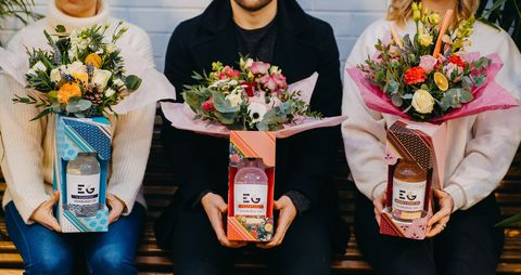 Gin bouquets valentines