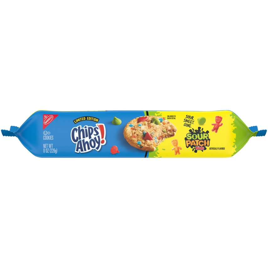 Chips Ahoy Sour Patch Kids cookies